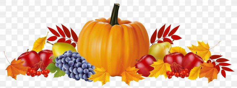 Thanksgiving autumn harvest watercolor clipart pumpkin fruits grapes turkey cornucopia wedding clip art fall leaves holiday invitation