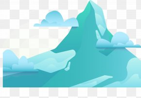 Blue Mountain - Blue Mountain Matterhorn PNG
