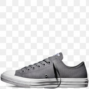 Vintage Converse Tennis Shoes For Women - Chuck Taylor All-Stars Mens Converse Chuck Taylor All Star II Ox Plimsoll Shoe Converse CT II Hi Black/ White PNG