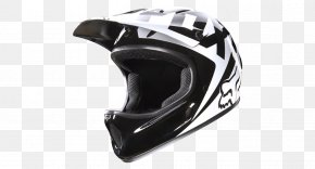Bicycle Helmet Image - Bicycle Helmet Downhill Mountain Biking Racing Helmet Fox Racing PNG