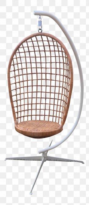 Green Rattan - Chair Egg Wicker Furniture Rattan PNG