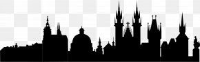 Mosque Silhouette Vector Black Church - Prague Silhouette Skyline Clip Art PNG