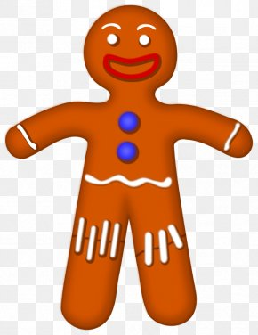 Maintenance Man Cliparts - The Gingerbread Man Cookie Clip Art PNG