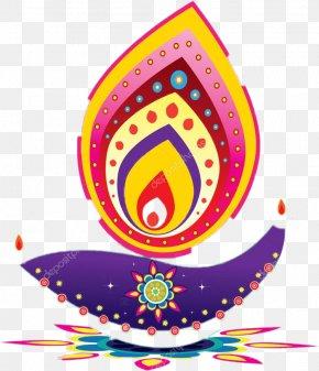 Diwali - Diwali Diya Clip Art PNG