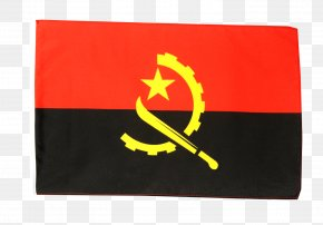 Flagred - Flag Of Angola National Flag The World Factbook PNG