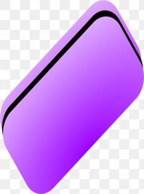 Eraser - Purple Product Font Design PNG