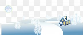 Beautiful Winter Snow Hanging Clip - Snow Winter PNG