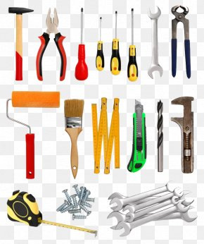 Creative Hardware Tools - Hand Tool Household Hardware Computer Hardware Industry PNG