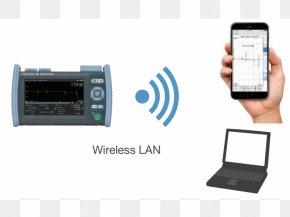 Wireless LAN - Optical Time-domain Reflectometer Optical Fiber Optics Optical Power Meter PNG