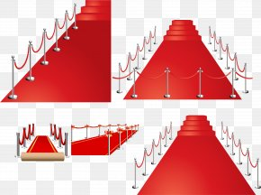 Exquisite Red Carpet Vector Material - Red Carpet Euclidean Vector PNG