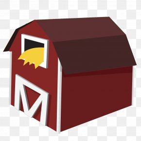 Barn Transparent - Farm Barn Clip Art PNG