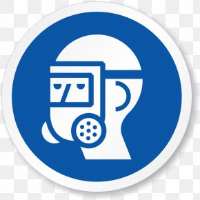 Googles - Respirator Hazard Symbol Safety Personal Protective Equipment PNG