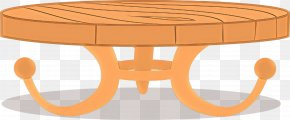 End Table Kitchen Dining Room Table - Table Cartoon PNG