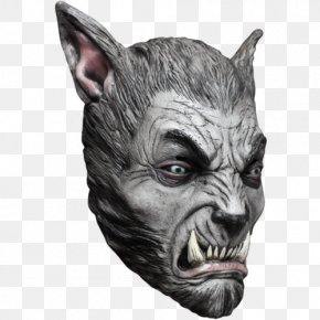 Werewolf - Werewolf Mask Halloween Disguise Horror PNG