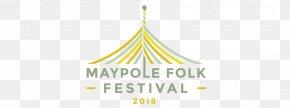 Maypole Top - Logo Brand Film Festival Font PNG