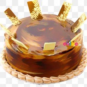 Chocolate Cake - Irish Coffee Chocolate Cake Bakery Birthday Cake PNG