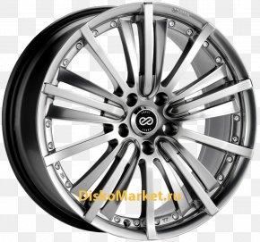 Car - Alloy Wheel Car Pneu 337 Tire Rim PNG