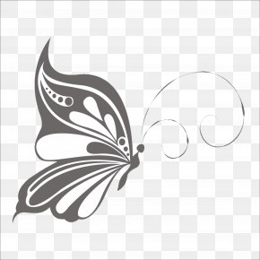 Butterfly Pattern - Butterfly Painting PNG