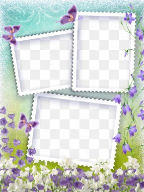 Sweet Style Picture Frame Background - Digital Photo Frame Pattern PNG