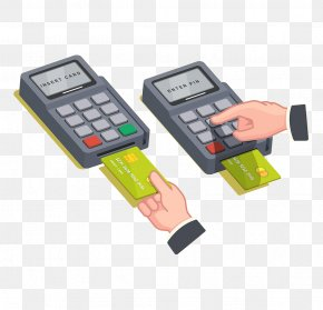 Credit Card Payment - Point Of Sale Payment Terminal Credit Card PNG
