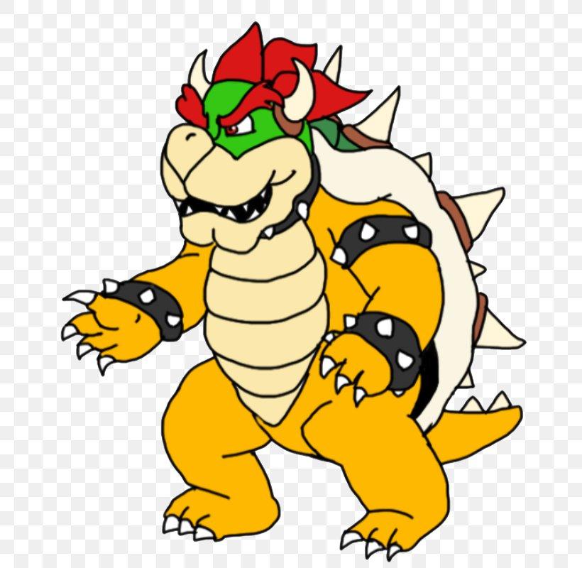 Bowser Drawing Mario Art Character Png 686x800px Bowser
