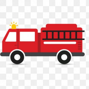Firefighter - Wall Decal Fire Engine Firefighter Sticker PNG
