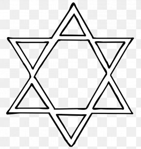 Star Of David Clipart - Star Of David Judaism Jewish Symbolism Clip Art PNG