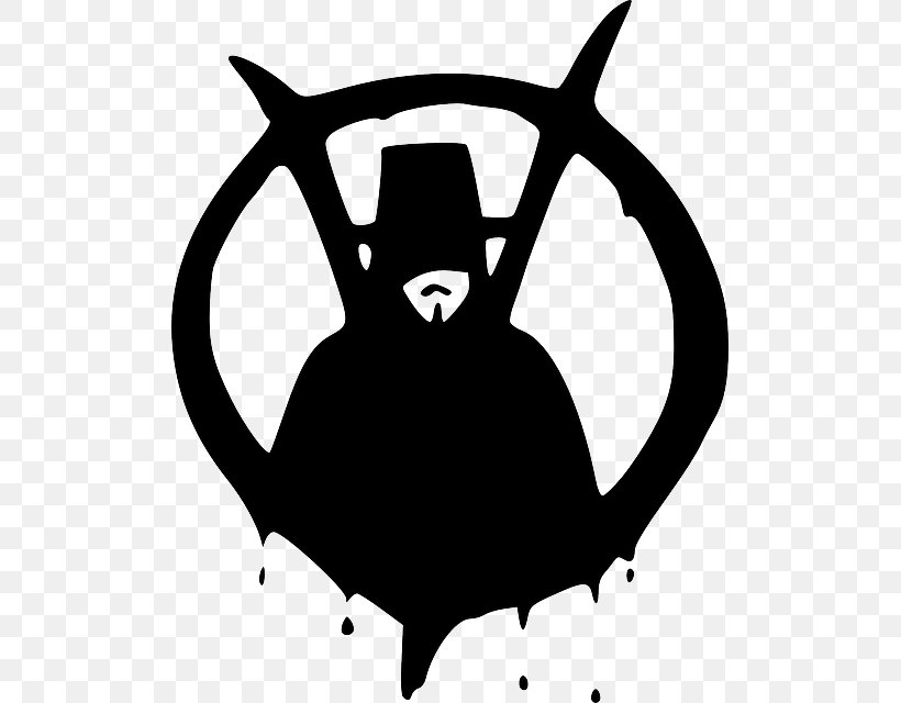 V For Vendetta Guy Fawkes Mask Drawing Png 507x640px V For