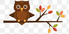 Owl Clip Art - Owl Autumn Clip Art PNG