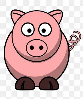 Free Pig Clipart - Domestic Pig Free Content Clip Art PNG