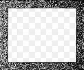 Vintage Frame File - Picture Frame Clip Art PNG