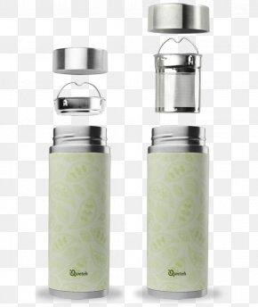 Marie Claire - Bottle Stainless Steel Brushed Metal Tea PNG