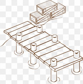 Dock Cliparts - Dock Coloring Book Pier Drawing Clip Art PNG