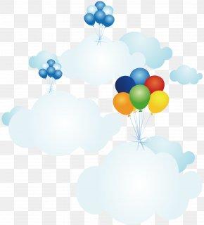 Cartoon Cloud Balloon - Cloud Animation Drawing Cartoon Speech Balloon PNG