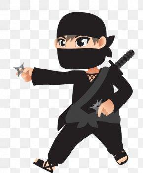 Samurai Ninja - Ninja Clip Art PNG