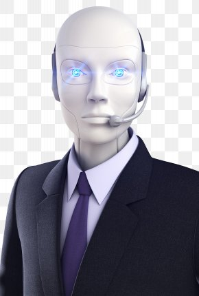 Intelligent Customer Service Robot - Call Centre Chatbot Customer Service Artificial Intelligence Robot PNG