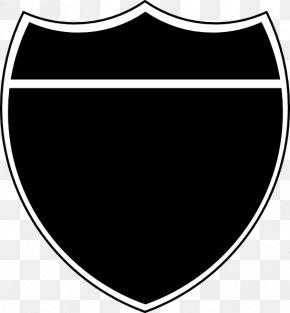 Black Shield - Interstate 20 US Interstate Highway System Clip Art PNG