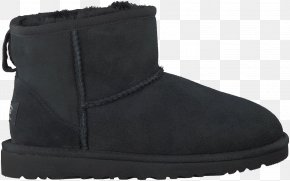 Boot - Snow Boot Footwear Shoe Suede PNG