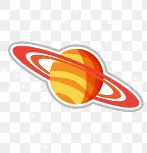 Vector Cartoon Illustration Planet - Space Age Cartoon Illustration PNG