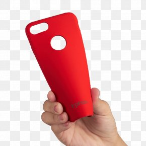 Iphone7 Red Silicone Phone Case - IPhone 7 Feature Phone Smartphone Mobile Phone Accessories Telephone PNG