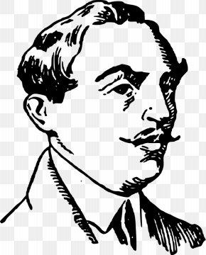Vector Mustache - Moustache Hairstyle Clip Art PNG