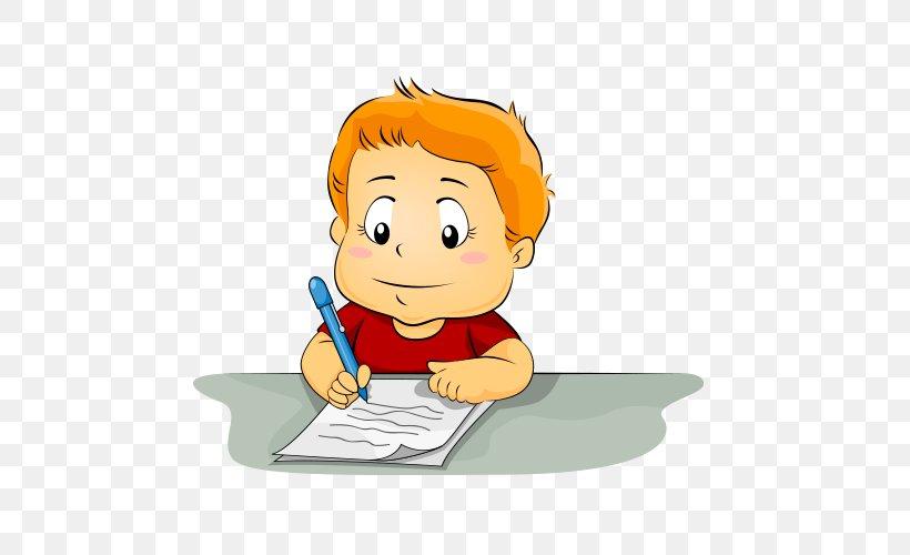Writing Child Clip Art, PNG, 500x500px, Writing, Art, Boy ...