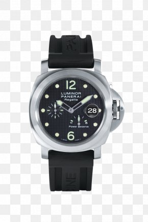 Panerai Watches Black Watches Male Table - Diving Watch Panerai Rolex GMT Master II Power Reserve Indicator PNG
