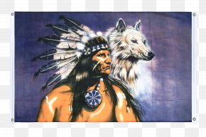 Indianer - Flag Of The United States Gray Wolf Flag Of The United States Native Americans In The United States PNG