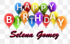Happy Birthday English Alphabet - Happy Birthday Balloon Clip Art PNG