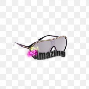 Glasses - Goggles Sunglasses Pink M PNG