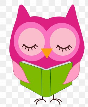 Reading Owl Cliparts - Reading Owl Free Content Clip Art PNG