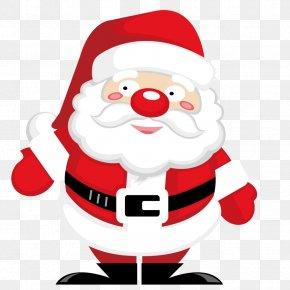 Hand-painted Santa Claus - Santa Claus Christmas Ornament Drawing Clip Art PNG