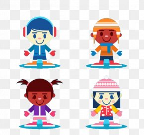 Children's Winter Clothing - Clothing Winter Child Clip Art PNG
