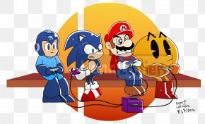 Professional Super Smash Bros Competition - Mario & Sonic At The Olympic Games Ms. Pac-Man Super Smash Bros. For Nintendo 3DS And Wii U PNG